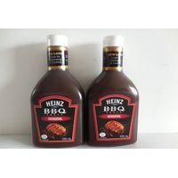 Heinz Brand BBQ Sauce Original/Honey&Galic Flavor 570g in Squeeze Bottle thumbnail image