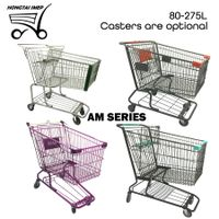 American Style Supermarket Shopping Trolley thumbnail image