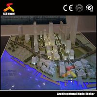 Architectural Model with Lighting System