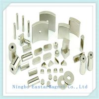 N35-N52 Neodymium/NdFeB Magnets with Nickel Plating