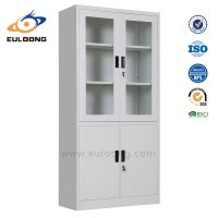 Metal cabinet with glass doors thumbnail image