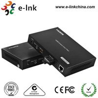 1-Ch HDMI Video + 1-Ch 10/100M Ethernet over Fiber Extender thumbnail image