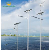 outdoor green energy customized 20w-100w LED solar street lights