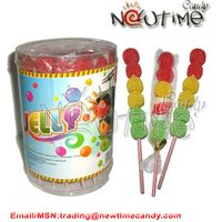 traffic light jelly lollipop