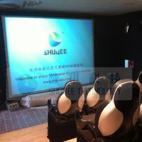 Middle 5D motion theater in Malaysia,5D cinema chair from China