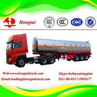 3 axle 42000 litres oil tanker semi trailer