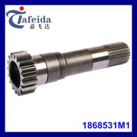 PTO Input Shaft for MF Agricultural Tractor, Transmission Components, 1868531M1, 17T / 25 Splines