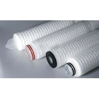 Pleated Filter Cartridges For Pharmaceutics/Ptfe Membrane Media Pleat Filter Cartridge thumbnail image