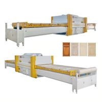 Economic woodworking Vacuum press machine for PVC door and kitchen cabinet door