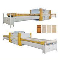 Economic woodworking Vacuum press machine for PVC door and kitchen cabinet door