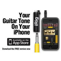 iRig Guitar Cable play your guitar with iPhone iPad