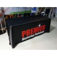Stretch tradeshow table throw thumbnail image