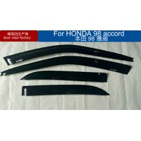 honda 98 accord car window visor black color