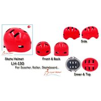ABS Skate Helmet LH-130 for adults scooter, roller, skateboarder and balance bike rider