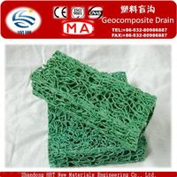 Rectangle Plastic Geocomposite Drain for Roofing Garden