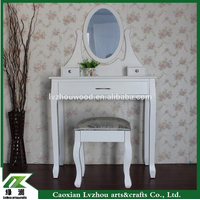 girls stylish Wooden Dresser with mirror /make up table