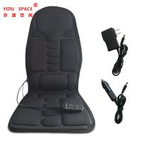 Car Accessory 12V Black Chair Cover Multifunctional Folding Heating Auto Car Massage Seat Cover thumbnail image