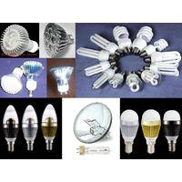 LED energy saving bulb and LED light