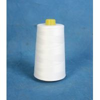 40S/2 Low shrinkage raw white spun polyester sewing thread for quilting machine
