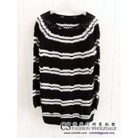 Ladies Striped Sweater 6298 thumbnail image