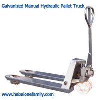 Galvanized Manual Hydraulic Pallet Truck thumbnail image