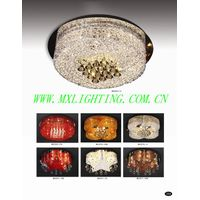 aluminum& crystal ceiling lamp MX2969-12