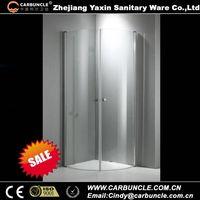 6mm Frameless Glass Folding Shower enclosure JM425