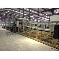 auto car glass production line