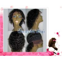 8 Inch Water Wave #1 Front Lace wig