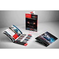 Automotive brochure design