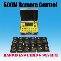 24 channels / 24 cues Sequential and Salvo Fire 300m Wireless Remote Control Fireworks Firing System