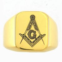 biker  ring pendant masonic ring pendant on www.fanssteel.com