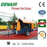 diesel mobile screw air compressor 28m3/min 10bar thumbnail image