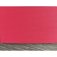 Straight Stripe Red Rubber Conveyor Belt 3.2mm