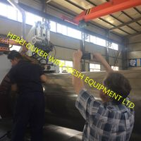 wire mesh equipment wedge wire screen plate welding machine