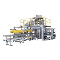 Automatic packing machine for chemical powder