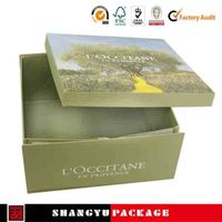 Lovely Color Cosmetic Folding Paper Box