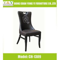 Marble Dining Table with Chair, Hot Selling Dining Chair, Wooden Dining Chair(CH-1309)