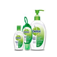 Dettol Instant Liquid Hand Sanitizer Refresh Anti-Bacterial Hand Gel