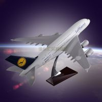 Emulational Model Plane OEM Airbus 380 Lufthansa Airlines Resin Engine Blade Hollow Design