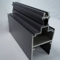 Industrial Aluminum Extrusion, Different Colors are Available