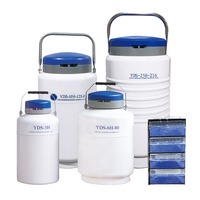 Dry shipper series liquid nitrogen freezer bull semen cryogenic tank