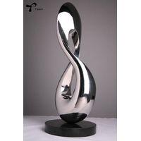 """Eight"" Stainless steel sculpture metal sculpture thumbnail image"