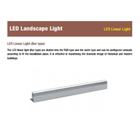 LED linear light - LED Landscape light by Bar type