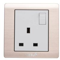 13A BS socket with switch