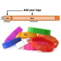 Bracelet usb flash disk for gifts