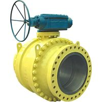 3PC Flanged Fixed Ball Valve