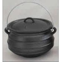 Wax Finish Cast Iron Potjie