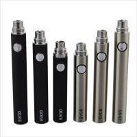 Electronic Cigarette 650/900/1,100mAh Rechargeable Evod Battery with Slicked Switch