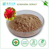 Manufacturer supply for Health Food and Beverage fructus schisandrae extract